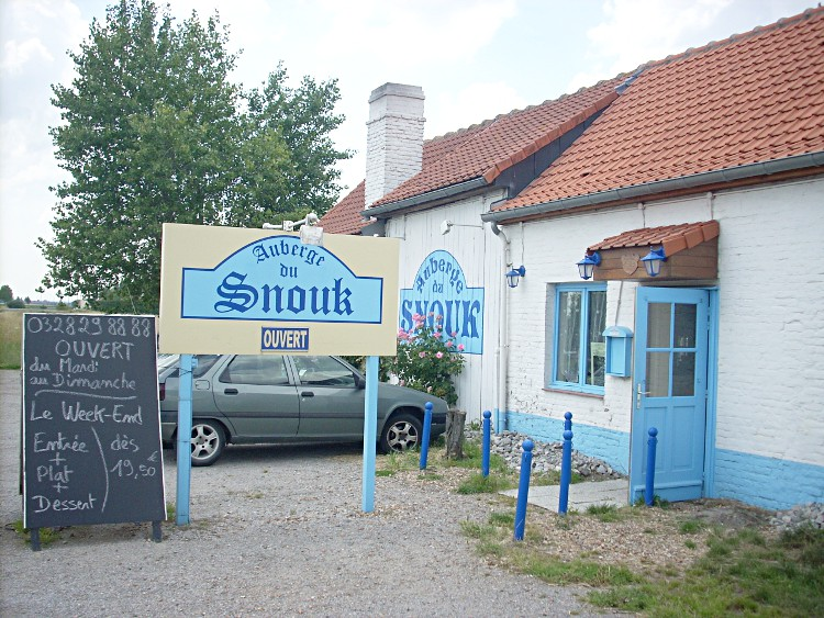 Estaminets flamands : L'auberge du Snouk à Broukerque